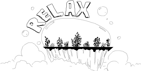 relax drawing