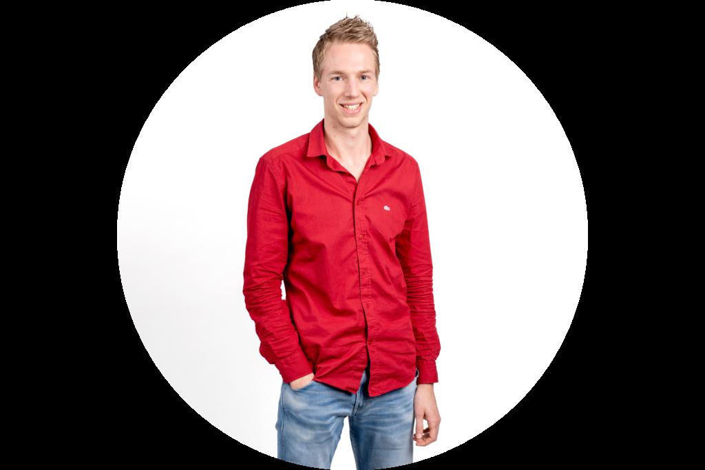 website portret Johan van Abbema