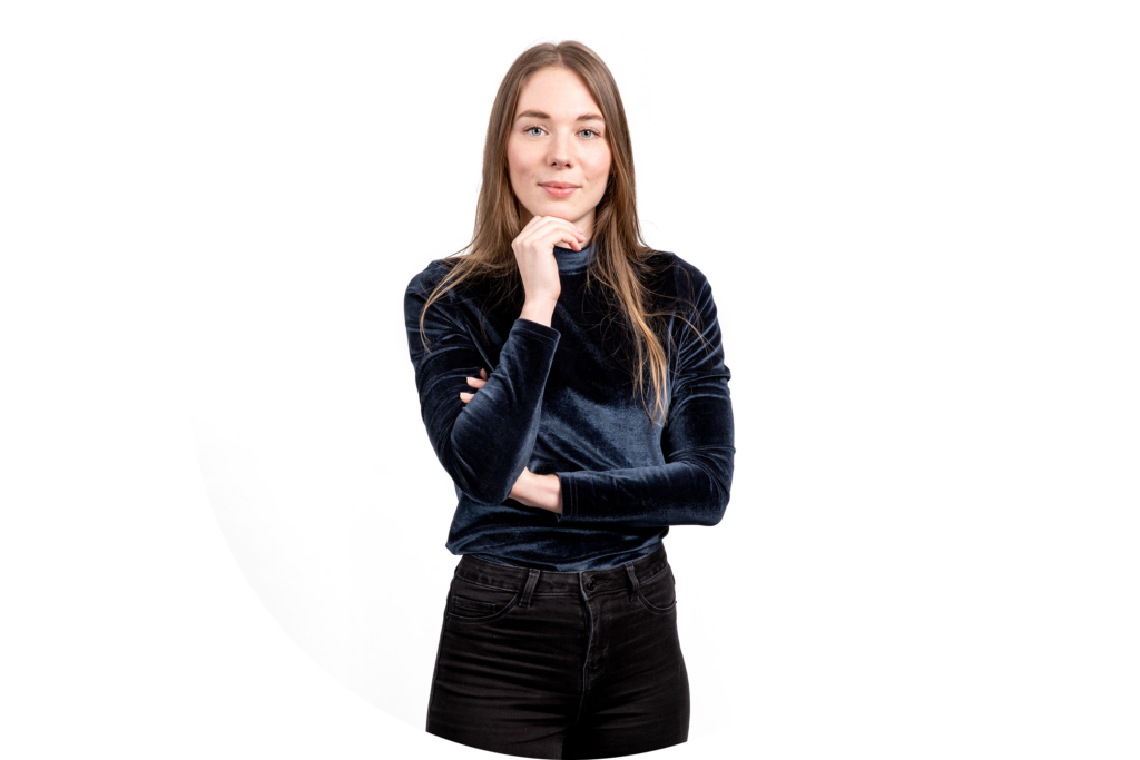 website portret Joëlle Hoeksma